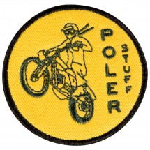 Poler - Moto 1 Iron-On Patches