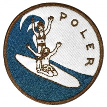 Poler - Surf 1 Iron-On Patches