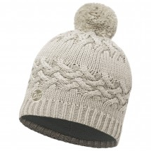 Buff - Women's Knitted & Polar Hat Savva - Beanie