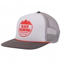 Black Diamond - Flat Bill Trucker Hat - Lippalakki