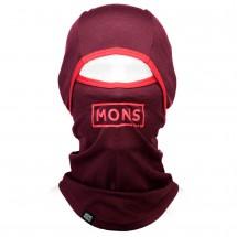 Mons Royale - Santa Rosa Hinge Balaclava Box Logo - Stormhette