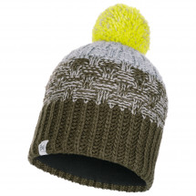 Buff - Kid's Tait Knitted & Polar Hat - Lue