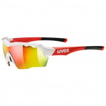 Uvex - Sportstyle 104 Clear+LM Orange+Mirror Red S0+1+3