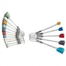 DMM - Starter's Nut Protection Set - Kiilasetti Multicolor