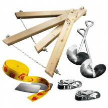 Slackline-Tools - Kids Frameline Set 10 - Slackline-Set