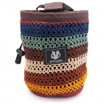 Evolv - Knit Chalk Bag Sherpa - Magnesiumpussi
