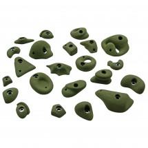 KMZ Holds - Set 1 - Pack de 22 prises d'escalade S-XL