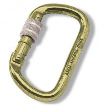 Kong - Oval / D Tempered Steel - Stalen karabiner
