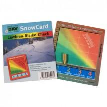 DAV - Snowcard - Lawinenrisiko-Check