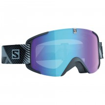 Salomon - Xview Photo Black/All Weather Blue - Skibrille