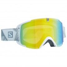 Salomon - Xview White/Lo Light Light Yello - Skibrille