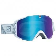 Salomon - Xview White/Univ. Mid Blue - Masque de ski