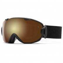 Smith - Women's I/Os Gold Sol-X / Blue Sensor - Skibrille