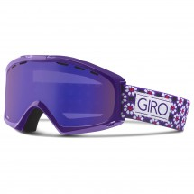 Giro - Women's Siren Grey Purple - Masque de ski