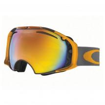 Oakley - Airbrake Fire Iridium + Persimmon - Ski goggles