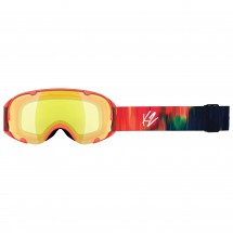 K2 - Women's Scene Aurora + Yellow Flash - Masque de ski