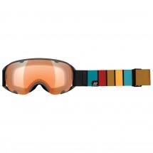 K2 - Women's Scene Silver Earth + Amber Flash - Ski goggles