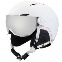 Bollé - Women's Juliet Visor Silver Gun + Lemon - Ski helmet