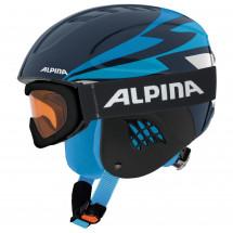 Alpina - Kid's Carat Set - Casco de esquí
