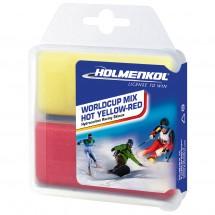 Holmenkol - Worldcup Mix Hot Yellow-Red - Hete was