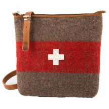 Karlen - Umhänge Tasche mit CH-Kreuz - Schoudertas