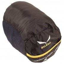 Salewa - Microfleece Liner Silverized With Zip - Inlet - Reiseschlafsack