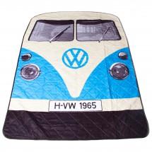 The Monster Factory - VW Camper Van Picnic Rug - Picnic blanket