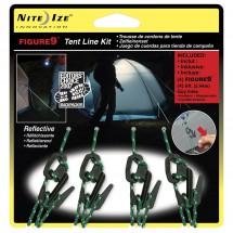 Nite Ize - Figure9 Closed Zelt-Set - Telttaköysisarja