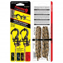 Nite Ize - Figure9 Karabiner Wire Gate (2-Pack) with Cord