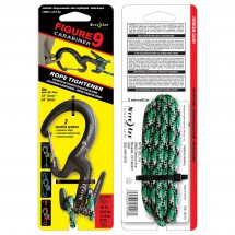 Nite Ize - Figure9 Karabiner Wire Gate with Cord