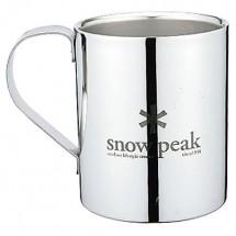 Snow Peak - Snow Peak Logo Double Wall Cup - Doppelwandtasse