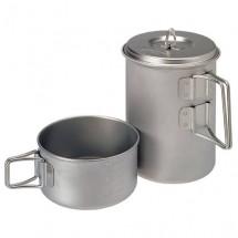 Snow Peak - Mini Solo Cook Set Titanium - Kit de vaisselle