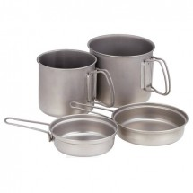 Snow Peak - Titanium Trek Combo - Set of dishes