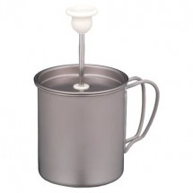 Snow Peak - Titanium Milk Foamer - Milk frother