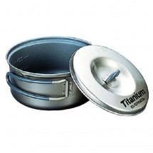 Evernew - Ti Non-Stick Pot - Cooking pot