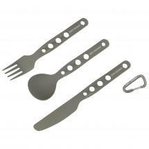 Sea to Summit - Alphaset 3 pc Cutlery Set - Besteckset