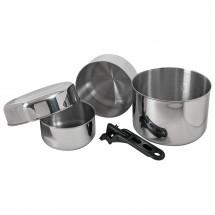 Basic Nature - Biwak stainless steel 3 - Matlangningssett