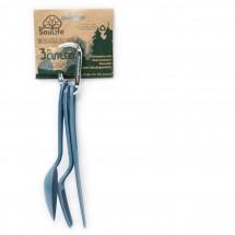 EcoSouLife - 3PC Cutlery Set - Bestekset