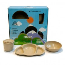 EcoSouLife - Little People Husky Gold Pack - Set of dishes