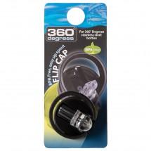 360 Degrees - Flip Cap - Reservedeksel
