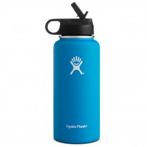 Hydro Flask - Wide Mouth Hydro Flask with Straw Lid