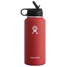 Hydro Flask - Wide Mouth Hydro Flask with Straw Lid - Isoleerfles