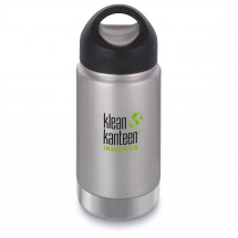Klean Kanteen - Wide Vacuum Insulated Brushed - Vakuumflaske