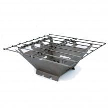 Vargo - Fire Box Grill - Réchaud à combustible sec