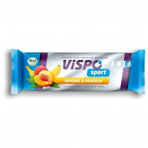 Vispo - Sport Banane & Pfirsich - Energiapatukka