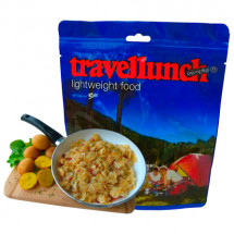 Travellunch - Paistetut perunat kinkulla