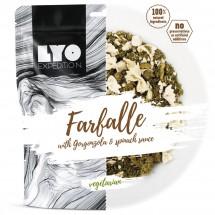Lyo Food - Farfalle Mit Gorgonzola Spinat Sauce
