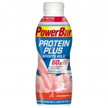 PowerBar - Proteinplus Sports Milk Erdbeer - Melkdrank