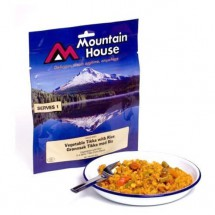 Mountain House - Würziges Currygemüse (Tikka) mit Reis