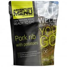 Adventure Menu - Pork Rib with Boiled Potatoes